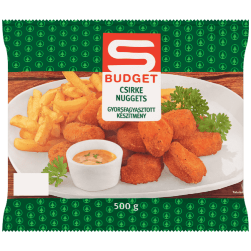S-BUDGET CSIRKE NUGGETS 500G