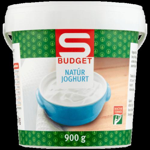 S-BUDGET NATÚR JOGHURT 900G